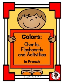 Colors Chart: French