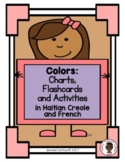 Colors Chart: Haitian Creole and French (Haiti)