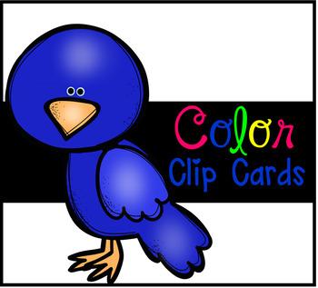 Colors Clip Cards