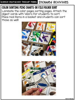 Colors & Color Mixing - Science for Little Learners (preschool, pre-k, & kinder)