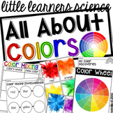 Colors & Color Mixing - Science for Little Learners (presc