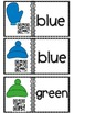 Colors, Color Words With QR Codes