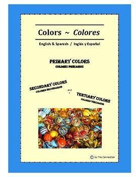 Colors - Colores ~ Bilingual English-Spanish