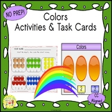 Colors Clip Task Cards