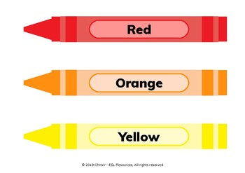 Crayon cards