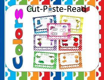 Colors: Cut Paste Read My Colors