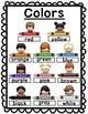 Colors Cut-Up Sentences