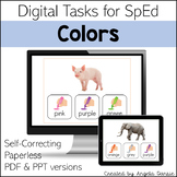 Colors | Digital Task for Special Education