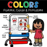 Colors Easel Set Posters Cards and Printables