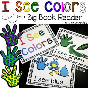 Colors: Emergent Reader Book
