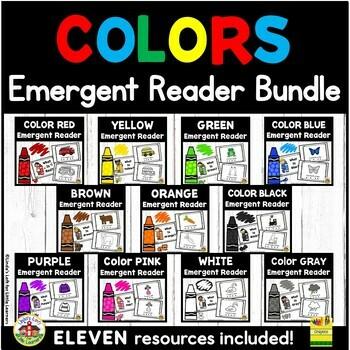 Colors Emergent Reader  Bundle