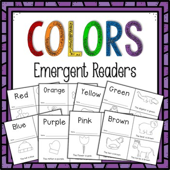 Colors Emergent Readers