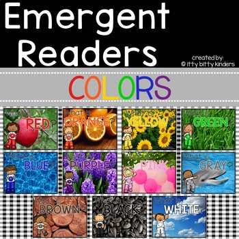 Colors: Emergent Readers