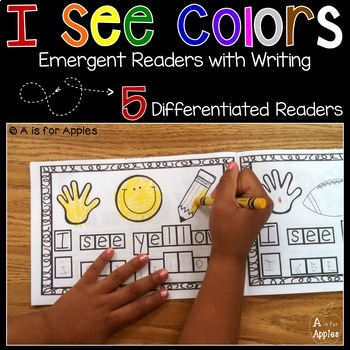 Colors: Emergent Readers with Writing