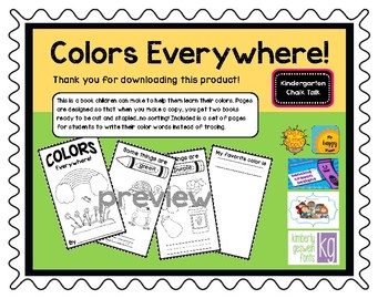 Colors Everywhere Book