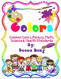 Colors & Feelings- Common Core Literacy, Math, Health & Science