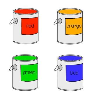 Colors File Folder Game [Matching]