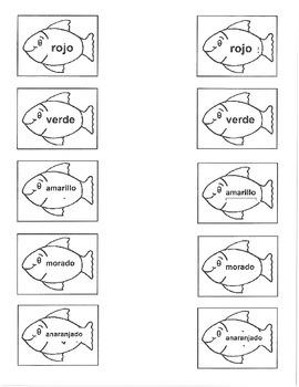 Colors Fish Bowl Fish