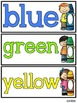 Colors Flash Cards {FREEBIE} English and Spanish
