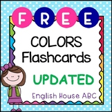 [FREE!] Colors - Flash Cards [NEW & UPDATED]