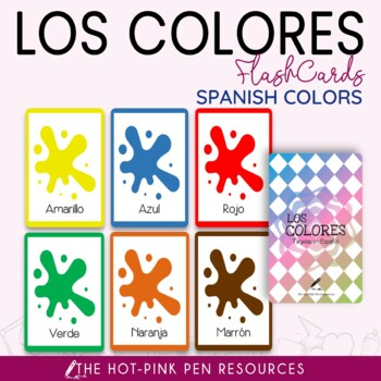 Colors' Flashcard | Spanish Colors