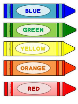 Colors - Flashcards