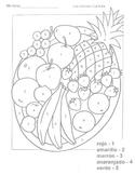 FLES Colors Fruit Bowl Activity