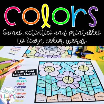 Colors {Games & activities} #spectacularspringdeals