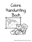 Colors Handwriting Packet