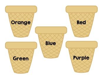 Colors: Ice-Cream Match