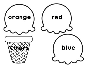 Colors: Ice-Cream Pile Up