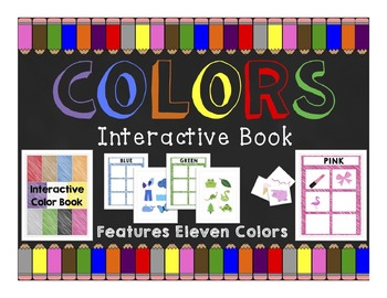 Colors: Interactive Book