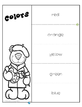 Colors Interactive Notebook