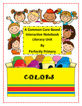 Colors Interactive Notebook Literacy Unit