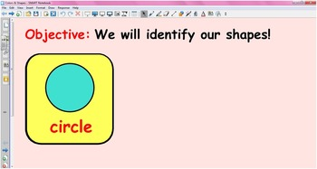 Colors Interactive Whiteboard Flash Cards
