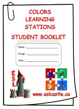 ESL: Colors Learning Stations