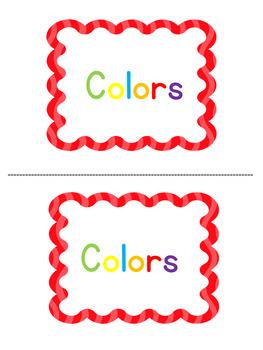 Colors  Level A Emergent Reader