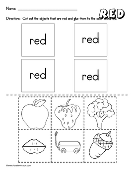 Colors:  Literacy and Math Fun