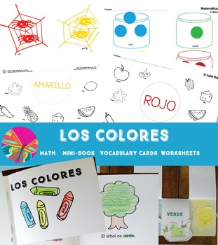Colors {Los Colores Spanish Bundle}