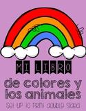 Colors - Los colores mini book