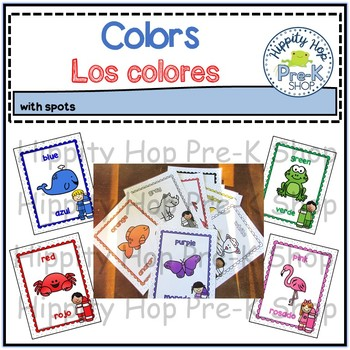 Colors-Los colores with spots