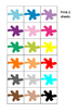 Colors Memory Pairs Game, Autism, Special Education, Turn Taking Social Skills