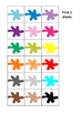 Colors Memory Pairs Game Autism