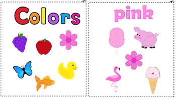 Colors Mini Book