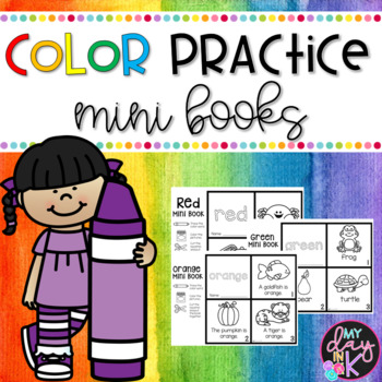Colors Mini Books