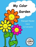 Colors Emergent Reader and Cut and Paste Activities Reader