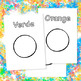 Colors Names Outlined Printable Pages for Creativity Game