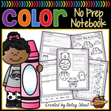 Colors No-Prep Notebook