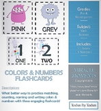 Colors & Numbers Flashcards