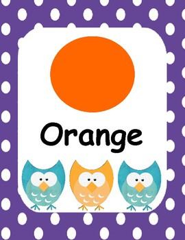 Colors Owl Theme